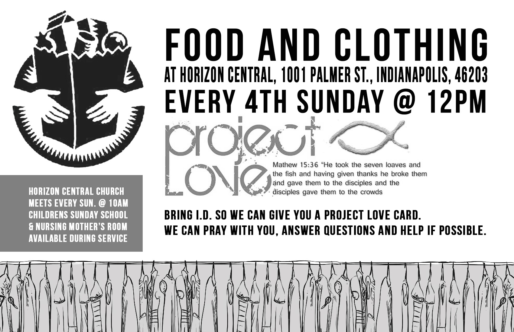 Project Love Food Clothing Pantry Horizon Central